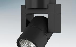 Как выбрать поворотные светильники для потолков