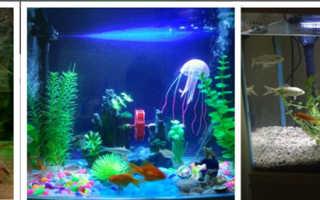 Изготовляем светодиодный светильник для аквариума своими руками