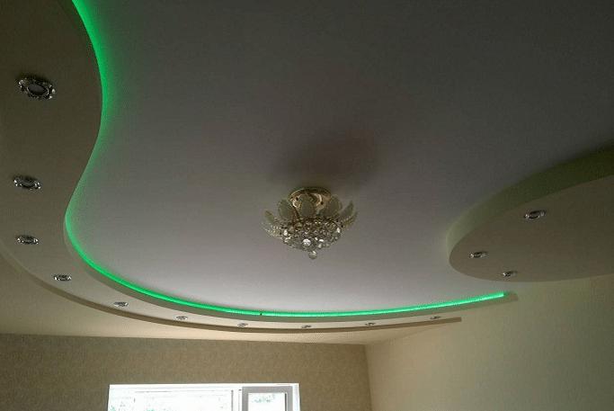Комбинированная подсветка