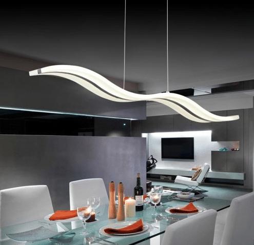 На что обратить внимание при выборе подвесных светильников для кухни