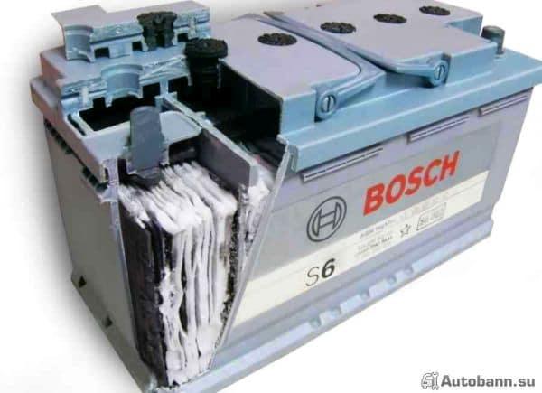 AGM батарея