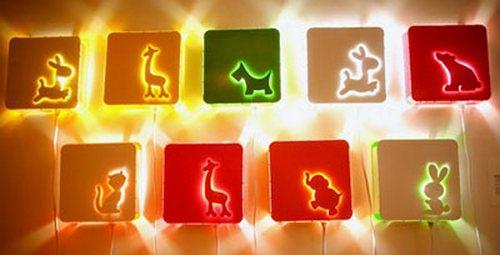 Выбираем ночник и настенный светильник для детской комнаты