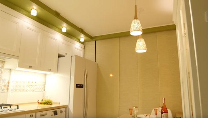Планируем эффектное и эффективное освещение кухни-гостиной