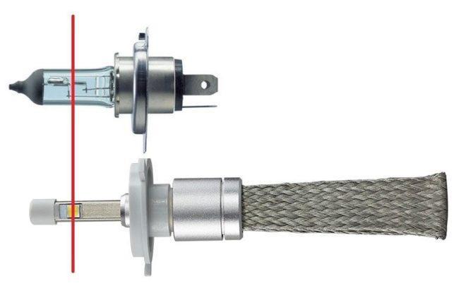 Сравнения спиралей и светодиодов