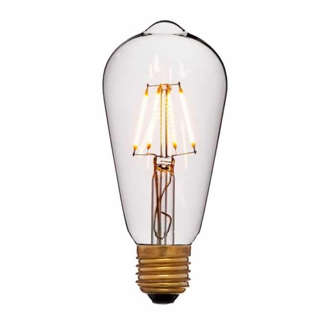 Светодиодная ретро-лампа