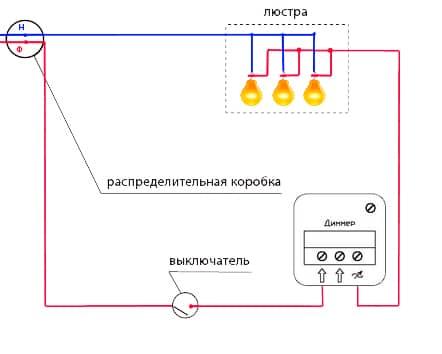 Как выбрать и подключить диммер для ламп накаливания