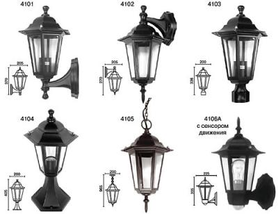 Уличные светильники Camelion