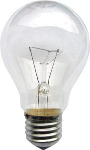Лампа накаливания e40