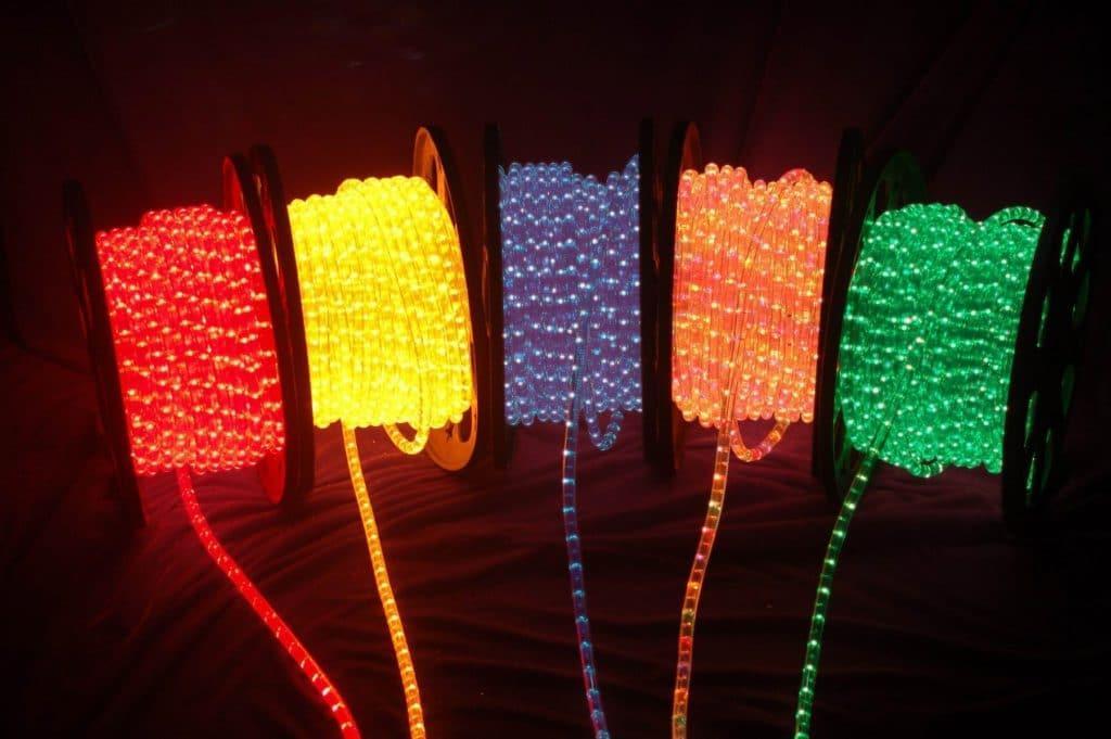 Цвета, LED