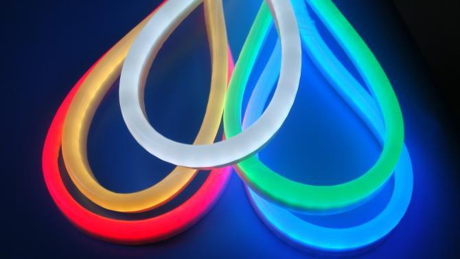 Волшебный неон - как самостоятельно выбрать и подключить светодиодный шнур