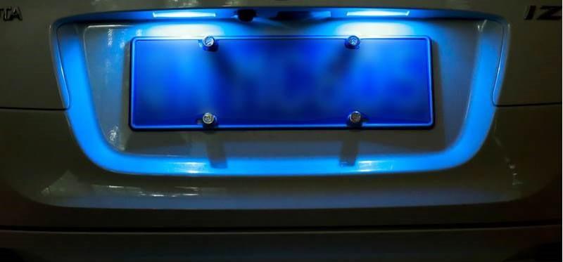 Подсветка номера на Приоре: как выбрать лучшую лампочку и самостоятельно произвести замену