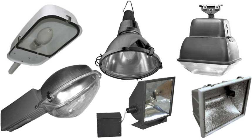 Виды прожекторов для уличного освещения