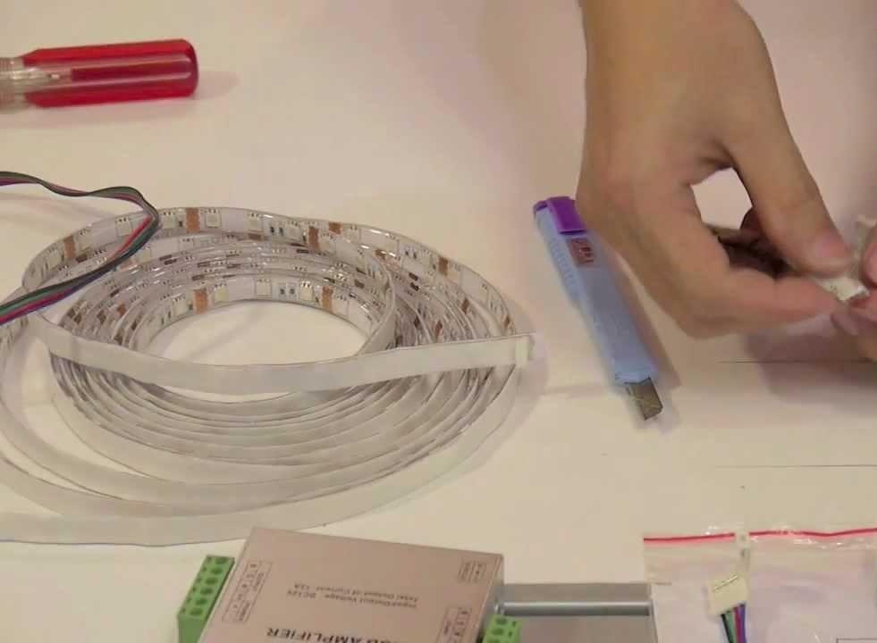 Основные виды поломок светодиодной ленты и как их устранить своими руками