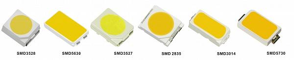 SMD диоды, отличающиеся компактностью, высоким коэффициентом яркости.