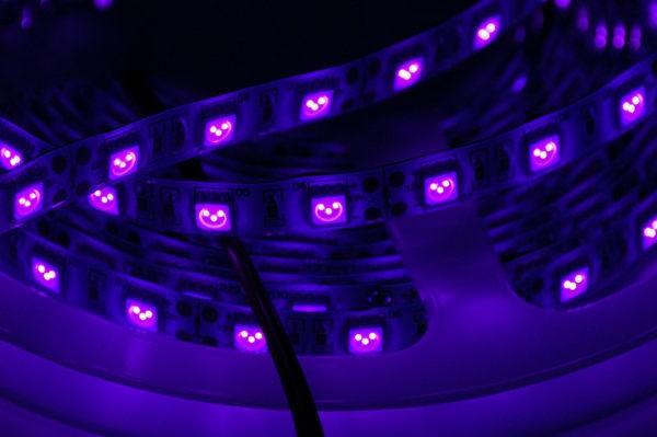 Все о характеристиках и сферах использования ультрафиолетовых светодиодов