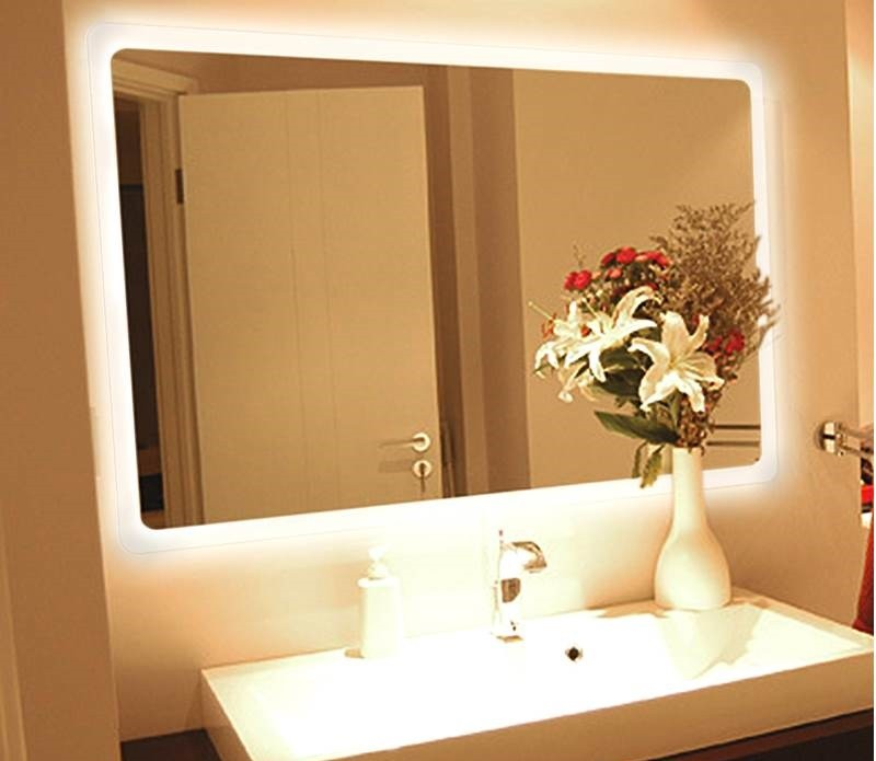 Как сделать зеркало с подсветкой своими руками: инструменты, выбор ленты, инструкция