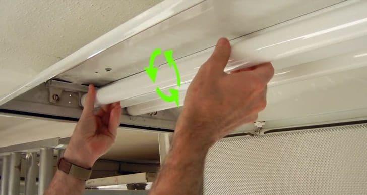 Как вытащить лампу