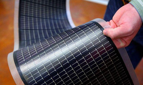 Солнечные батареи аморфные