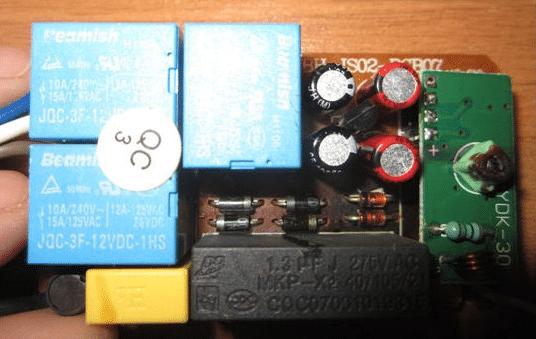 Как подключить люстру с пультом управления