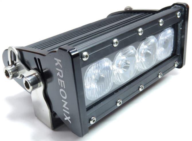 прожектор на четырех диодах