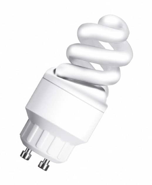Энергосберегающая, GU10