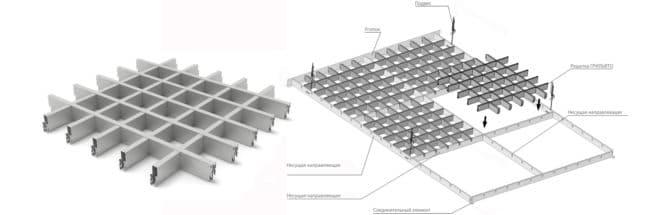 Решетчатый модуль
