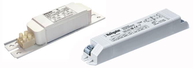 Электромагнитное и электронное пускорегулирующие устройства