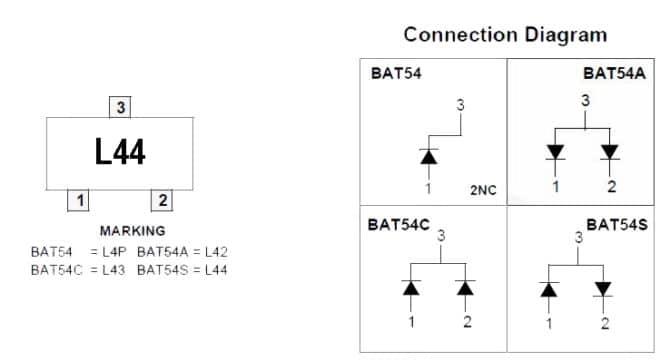 сборка BAT54S