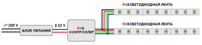 Подключение светорегулятора