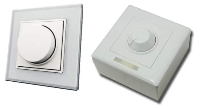 светорегуляторы для стены