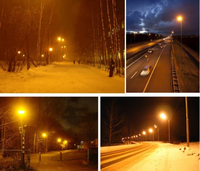 ДНаТ для освещения улиц