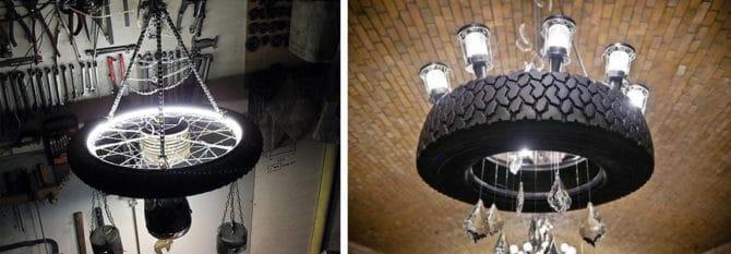 декор освещения гаража