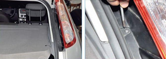 задний фонарь на Форд Фокус 2