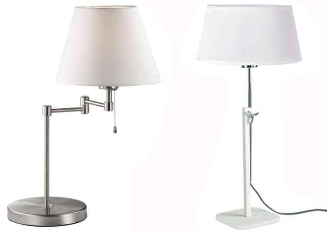 лампы с поворотным сочленением