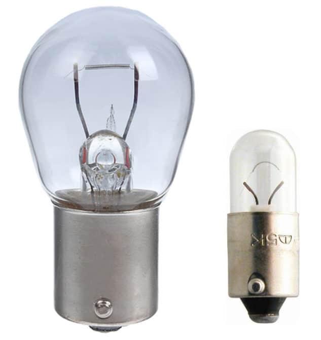 Лампы P21W и T5W