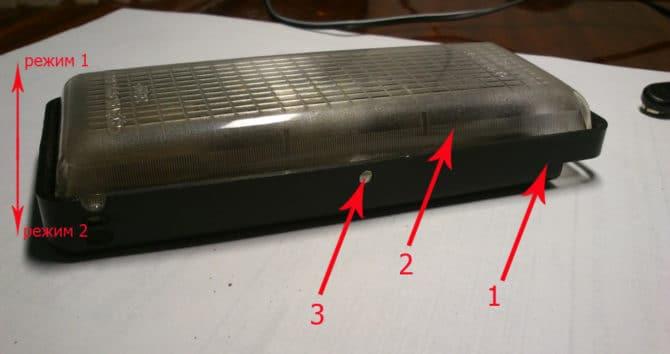 фонарь от ВАЗ 2110
