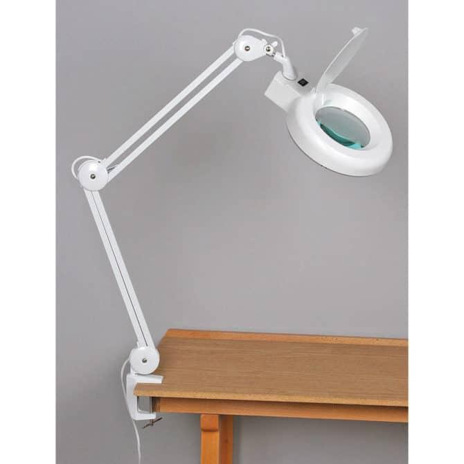 Настольная лампа с креплением