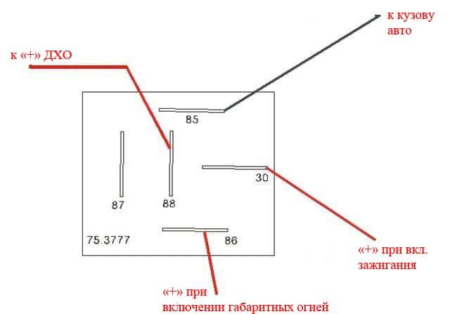 Монтажная схема Форд Фокус 2