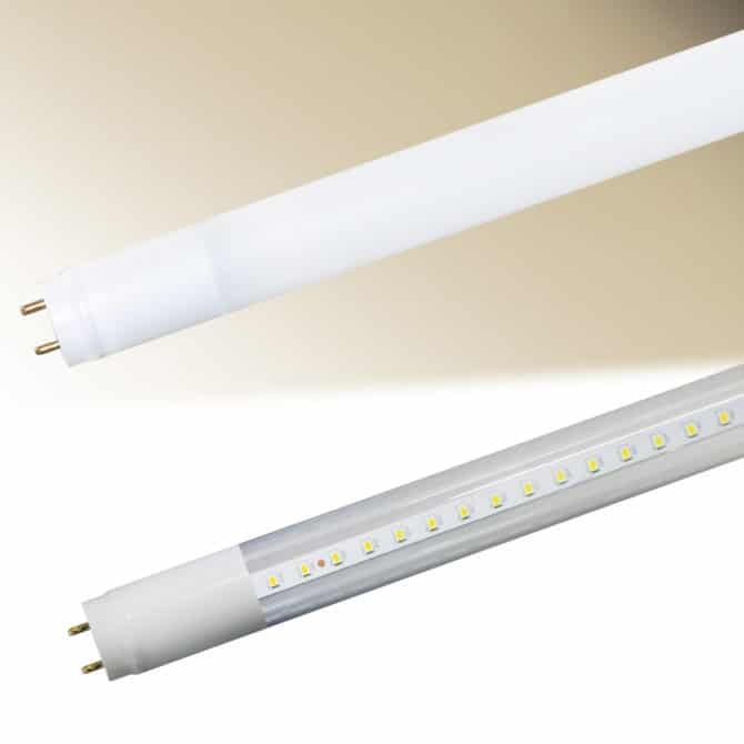 Внешний вид светодиодной трубки