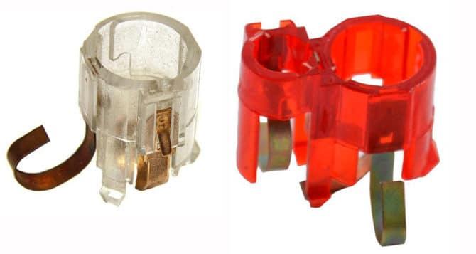 Патроны лампP21W и P21W+T4W