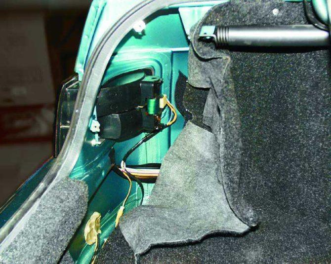 Угловой фонарь ВАЗ 2112