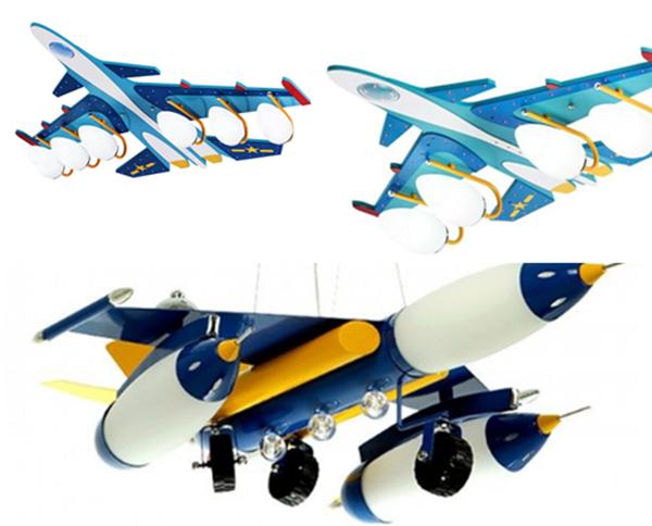 Какую выбрать люстру в виде самолета в детскую или сделать своими руками?
