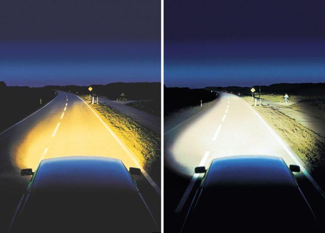 Сравнения освещения