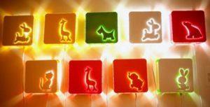 Настенные светильники для детской комнаты