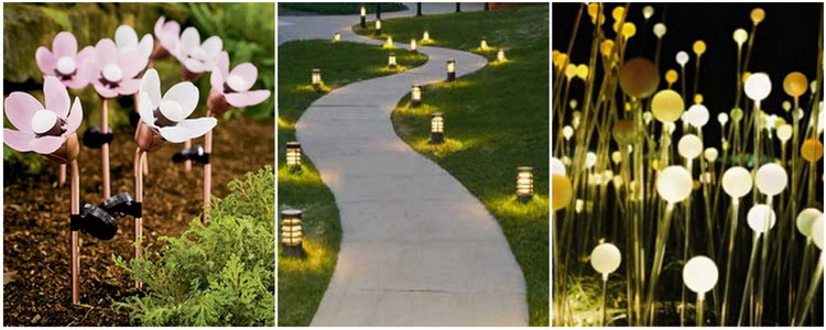Садовые фонарики марки Globo