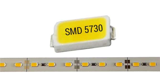 Характеристики мощных светодиодов 5730 и их применение
