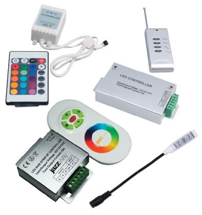 Виды RGB контролеров