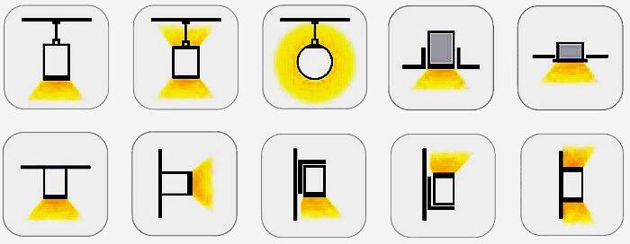 Монтаж линейных светодиодных светильников и систем.