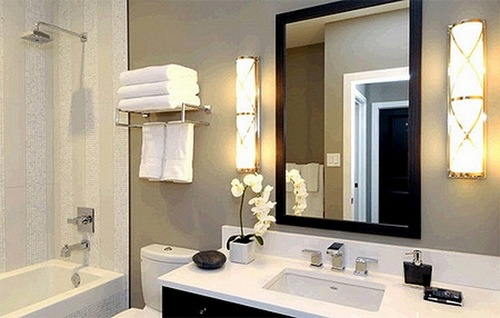 Выбор бра для ваннй комнаты