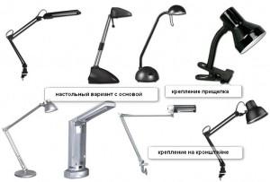 Различные крепежные системы